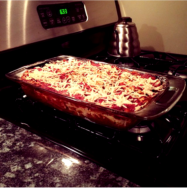 Baked Ziti - homemade