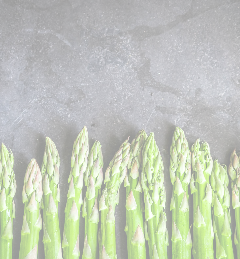 picture of asparagus lined up