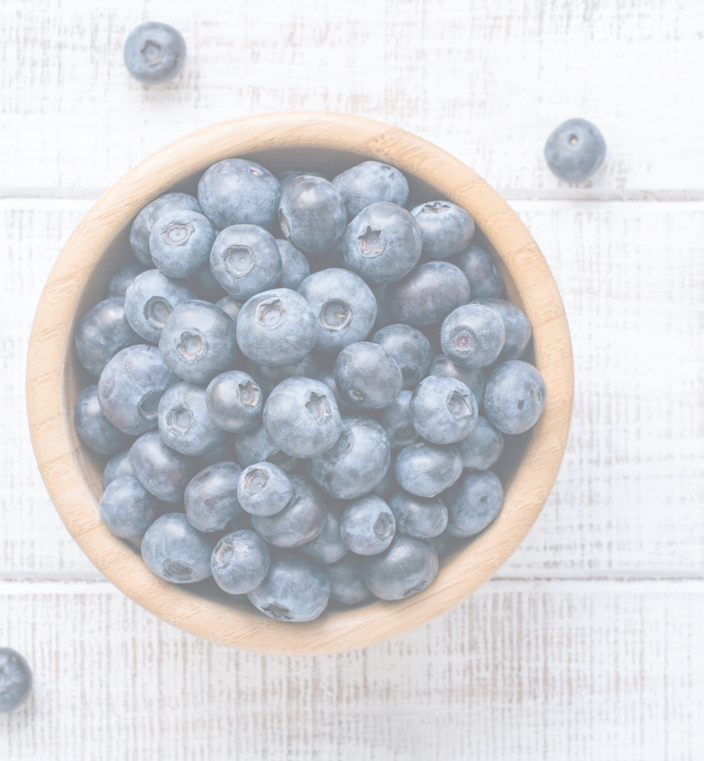 picture of blueberries in a bowl