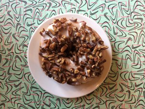 Vegan donut at Sticky Fingers in Washington, D.C.