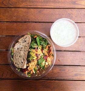 Vegan salad at sweetgreen in Washington, D.C.