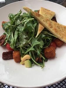 Vegan cobb salad at Busboys & Poets in Washington, D.C.