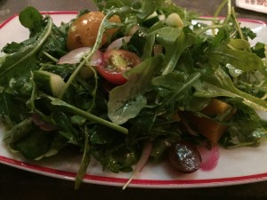 Vegan salad at Founding Farmers in Washington, D.C.
