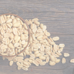 shelled peanuts in a bowl