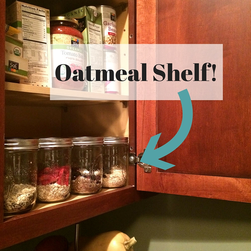 Oatmeal Shelf!