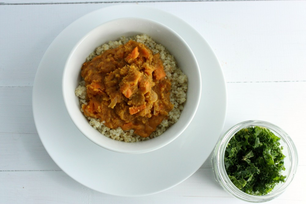FH sweet potato lentil curry