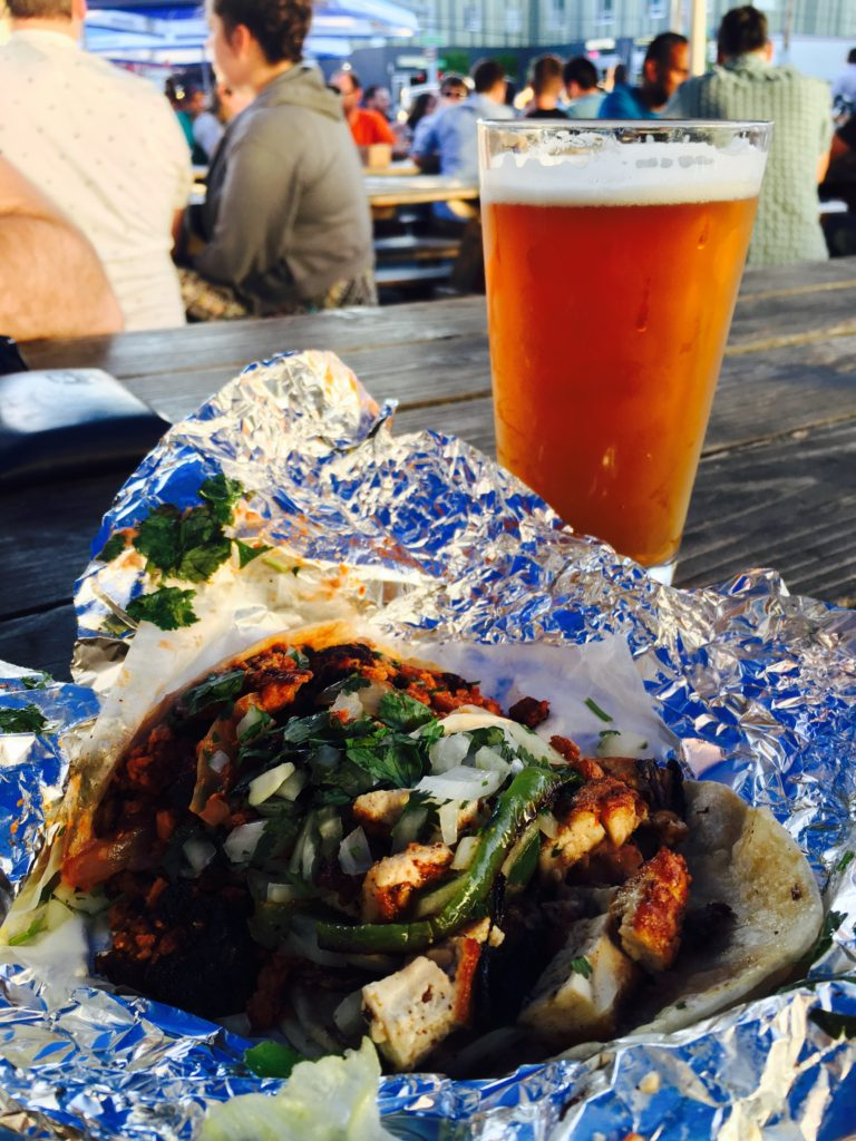 An Oregon brew and vegan tacos from Los Gorditos