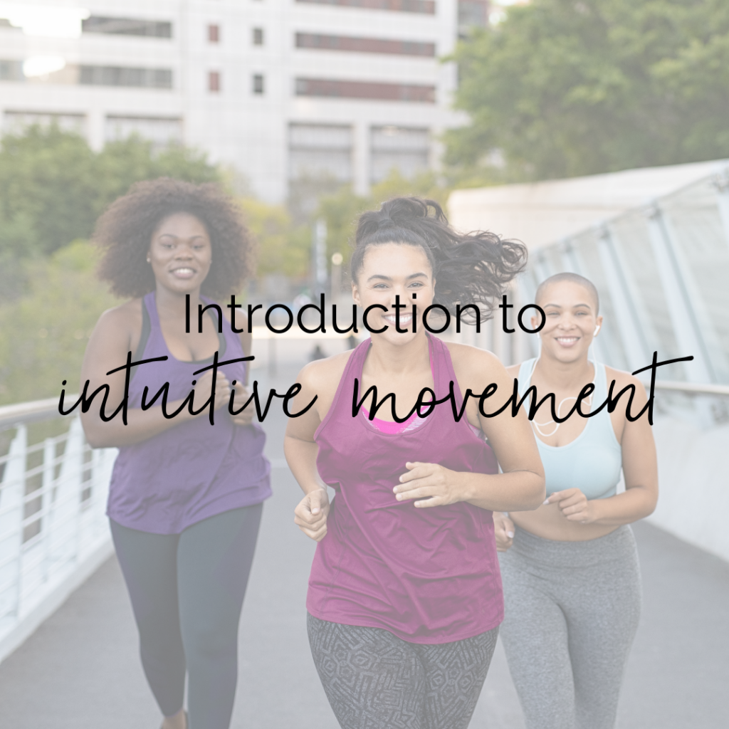 Introduction to Intuitive Movement