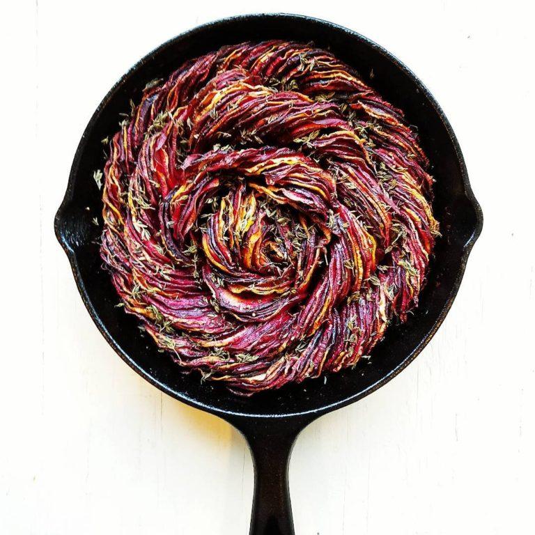Roasted Balsamic Beets + Rutabaga