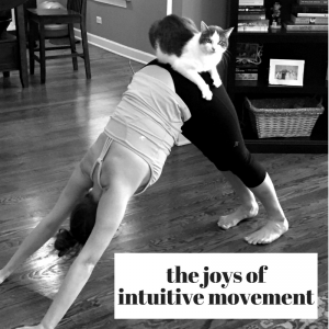 intuitive movement yoga and cat