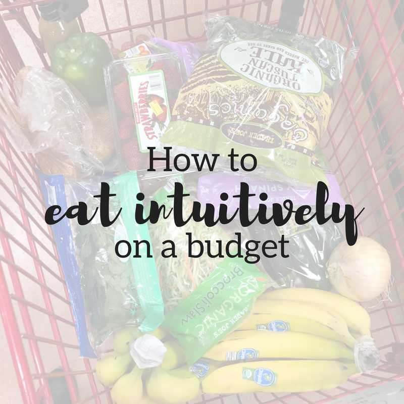 How to Eat Intuitively on a Budget, Without Wasting Food