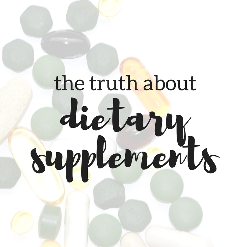 The Truth about Dietary Supplements. 3 Facts Everyone Should Know About Dietary Supplements. Busting Myths on 7 Common Dietary Supplements.