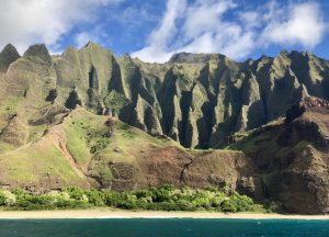 The Cathedral on Na Pali Coast in Kauai