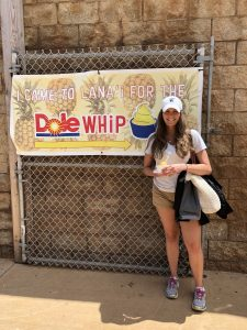 Dole Whip at the harbor on Lanai