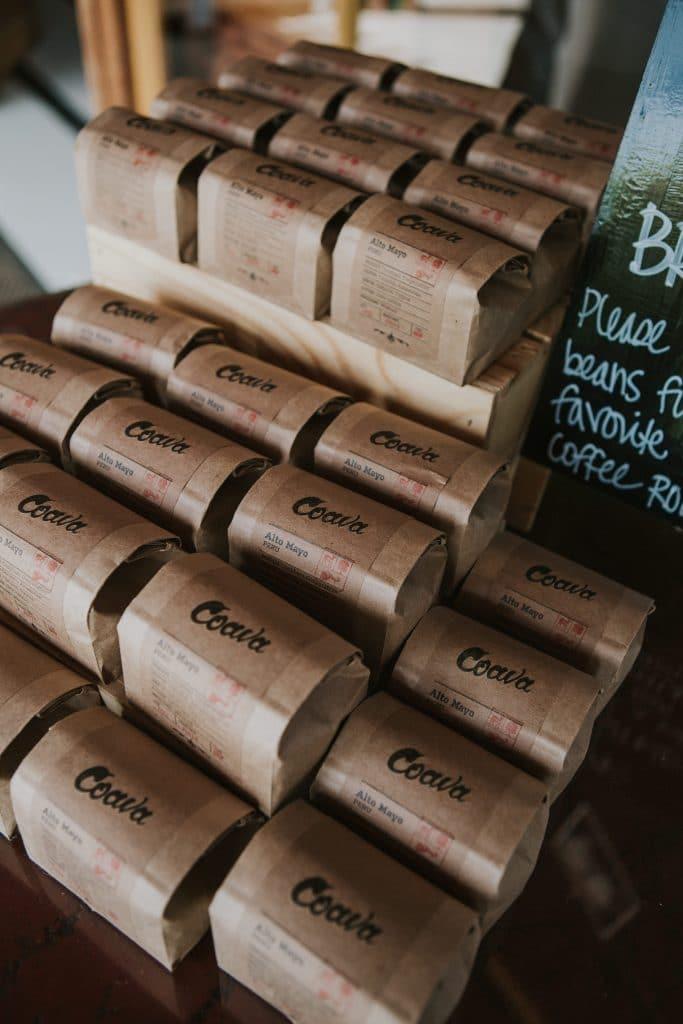 Coava Coffee at Mt. Hood Organic Farms wedding in Oregon