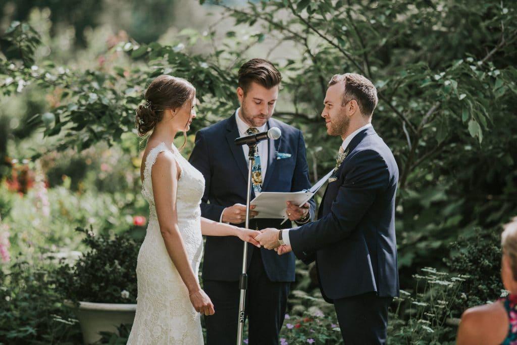 Oregon wedding at Mt. Hood Organic Farms