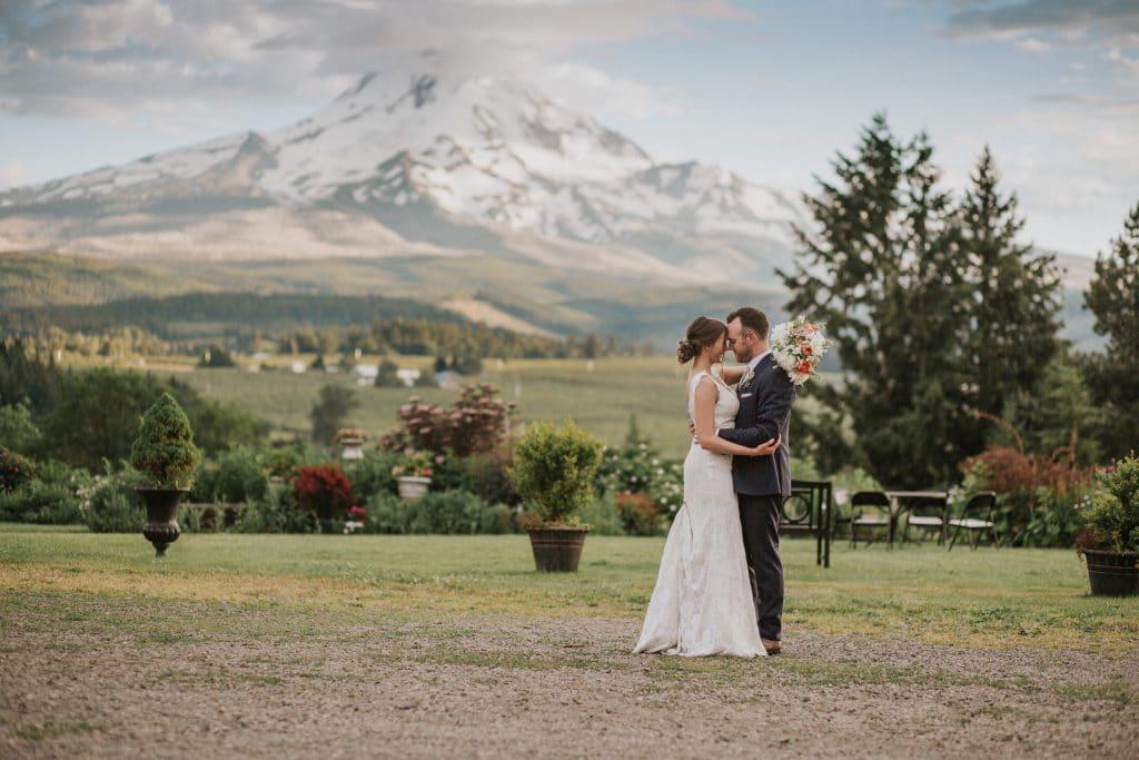 Wedding at Mt. Hood Organic Farms