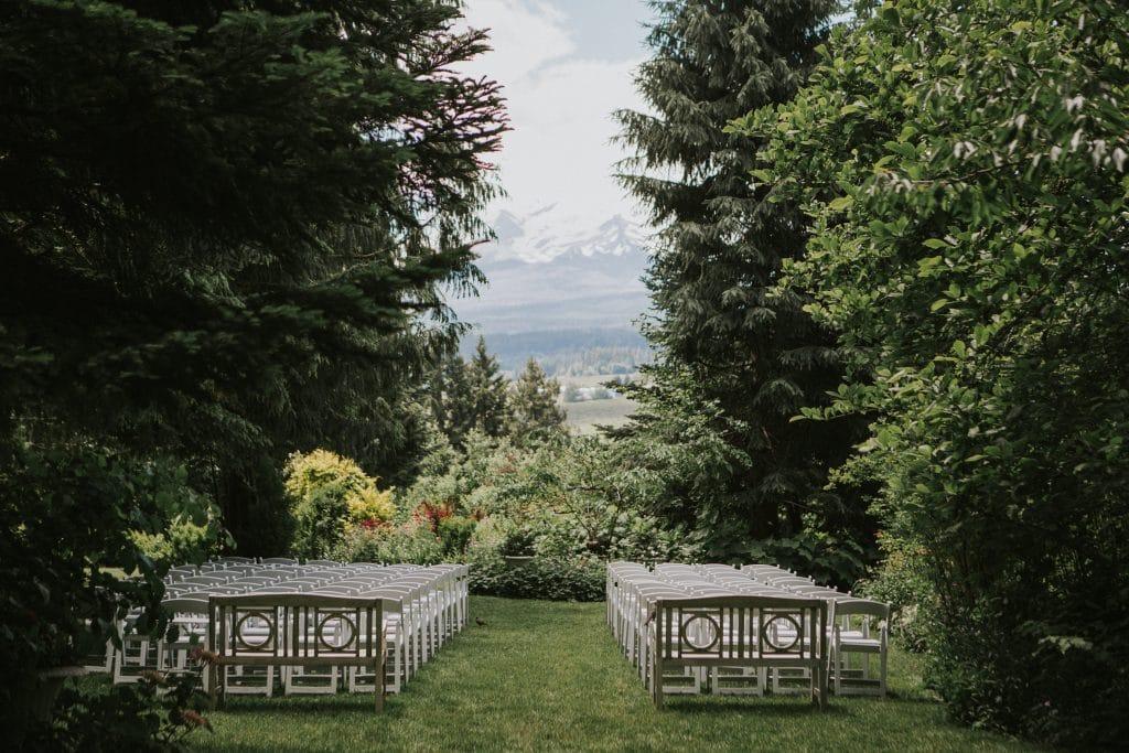 Mt. Hood Organic Farms Oregon wedding venue