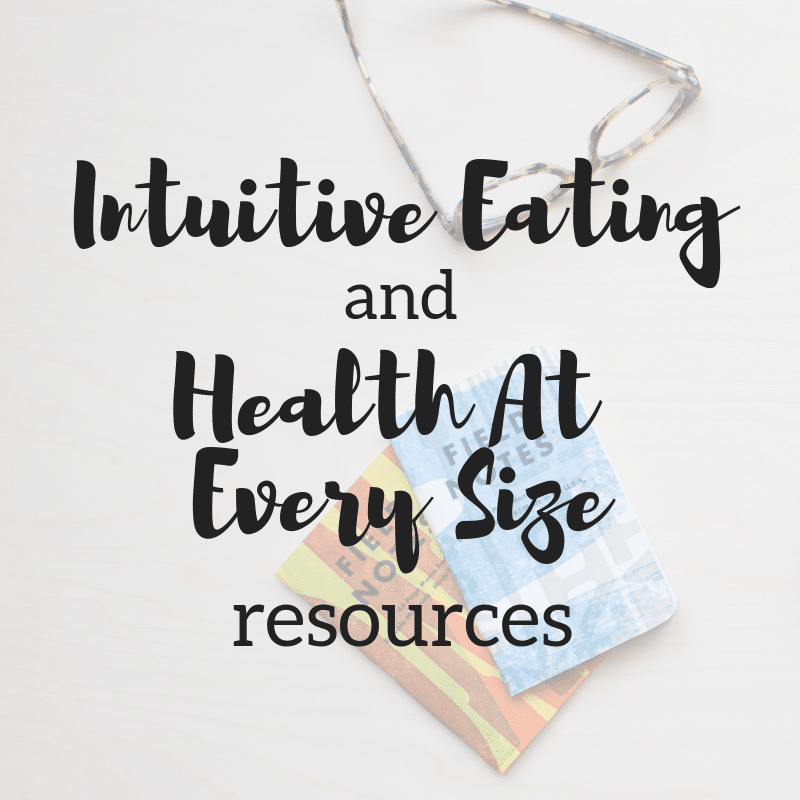 Introduction to Intuitive Eating and Health At Every Size