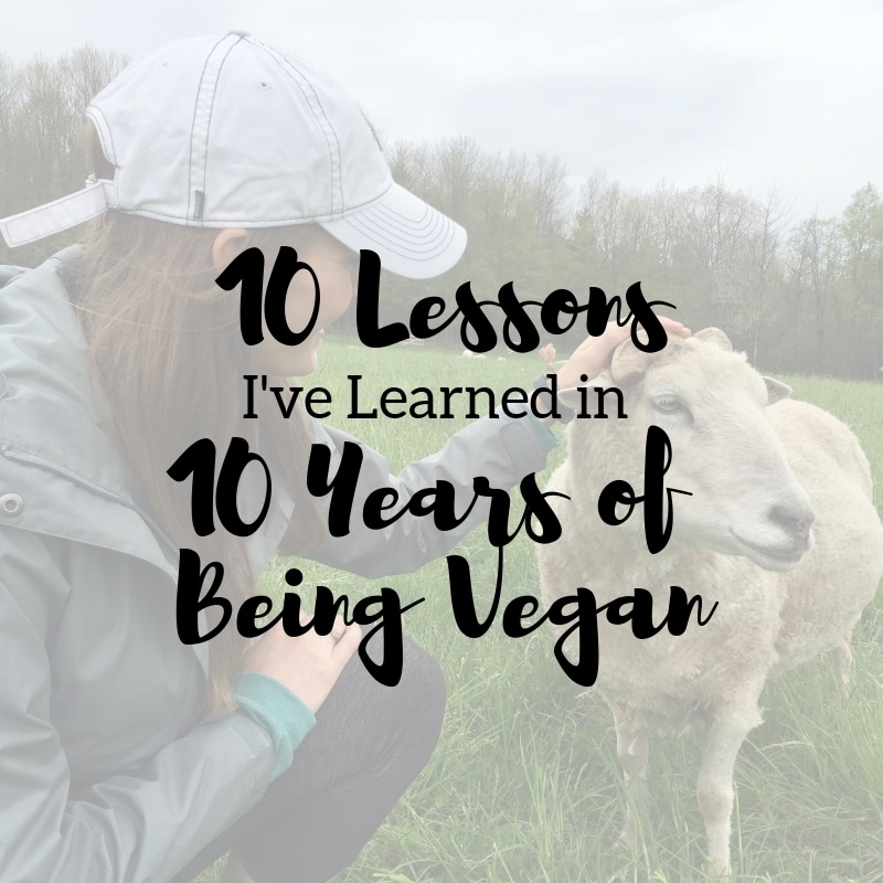 10 Lessons I've Learned in 10 Years of Veganism | Taylor Wolfram, MS, RDN, LDN