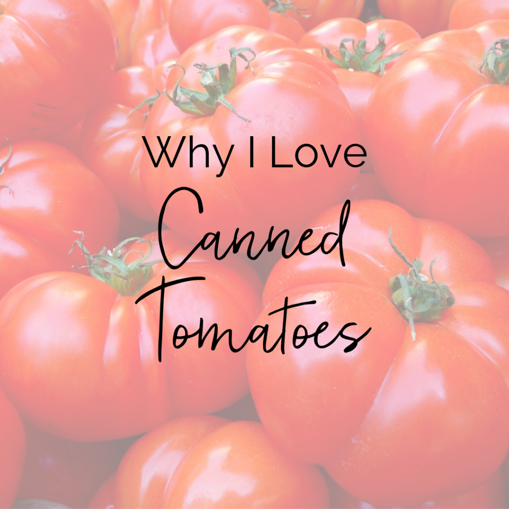 How to Use Canned Tomatoes