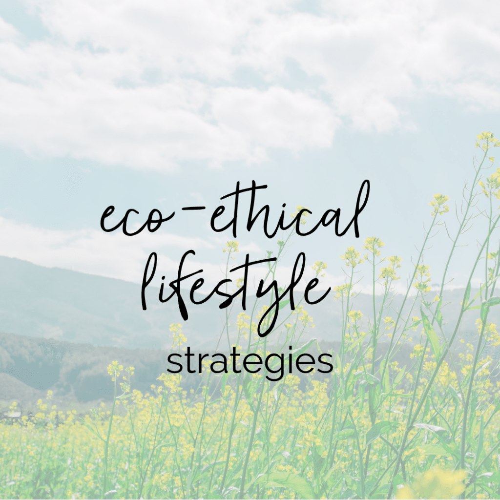Eco-Ethical Lifestyle Strategies | Taylor Wolfram, MS, RDN, LDN