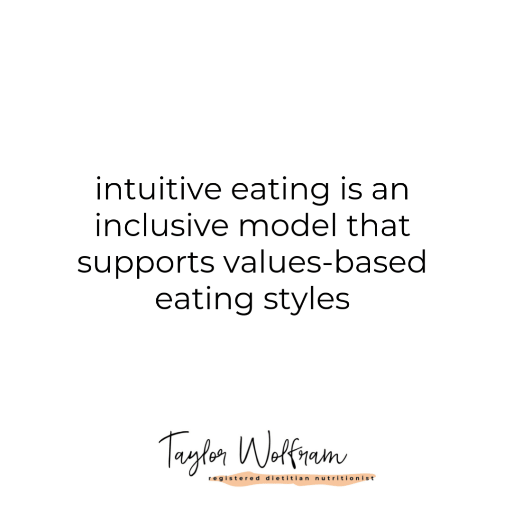 Intuitive Eating and Ethics