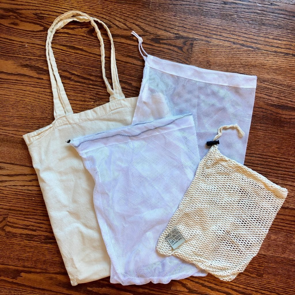 Eco-Friendly Reusable Grocery Bag and Produce Bags