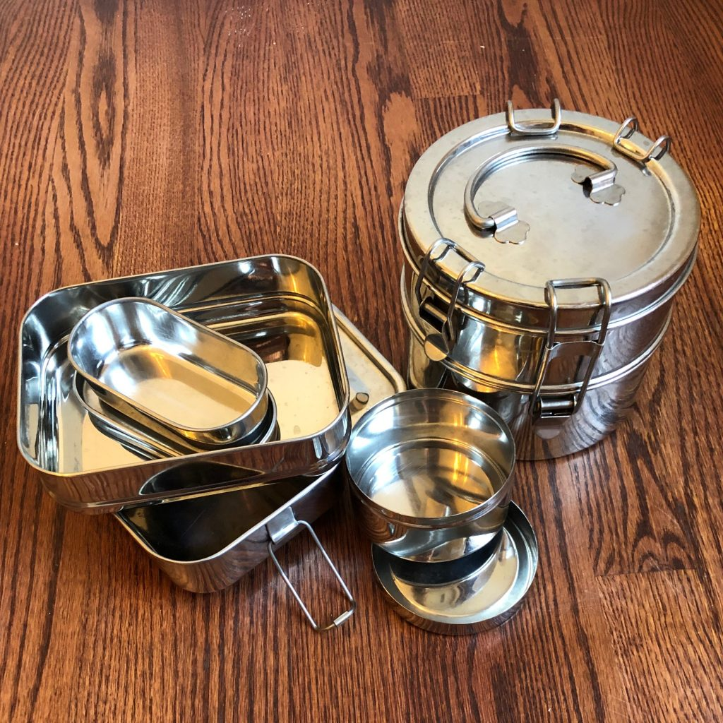 Metal Tiffins for Eco-Friendly Lunches