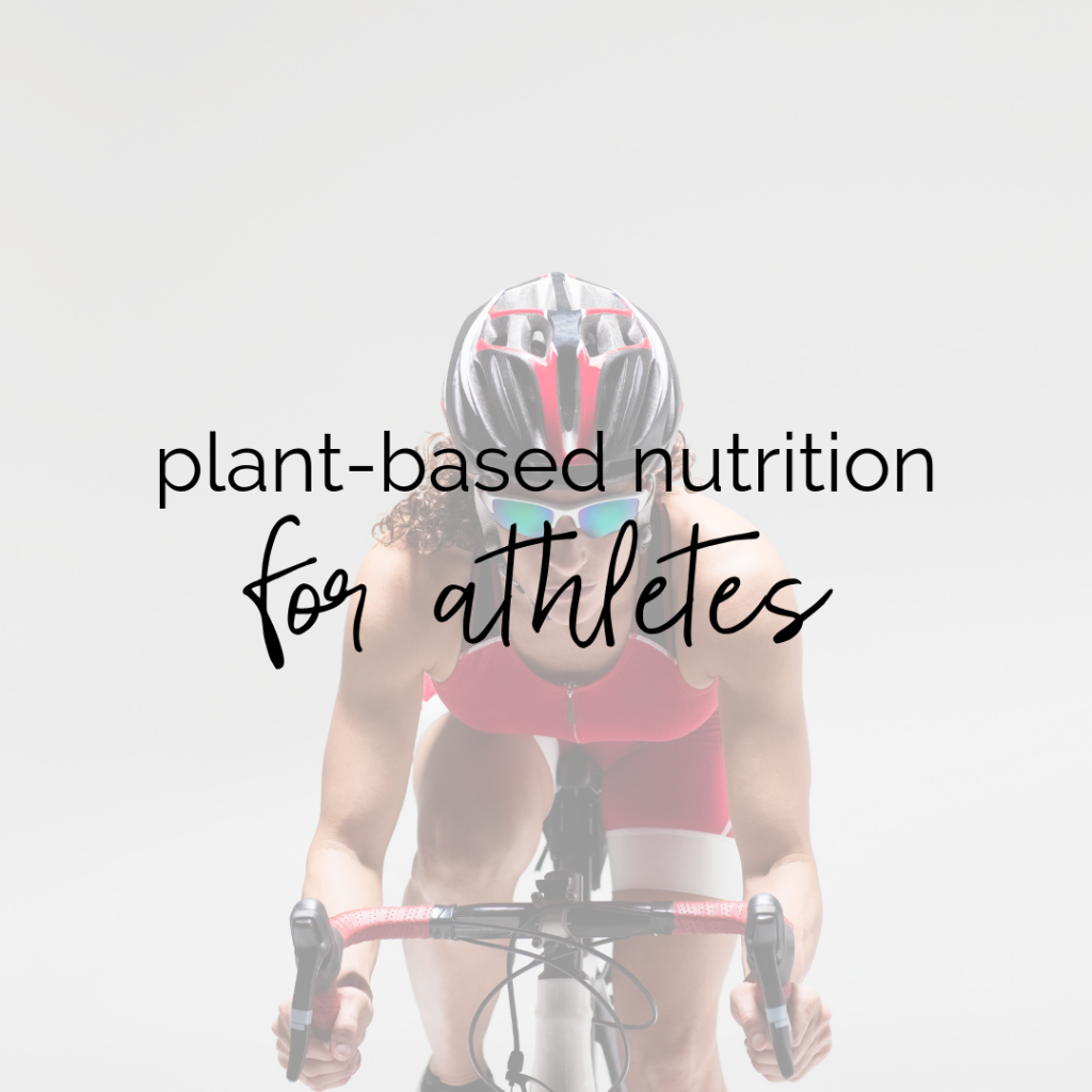 Plant-Based Sports Nutrition for Athletes