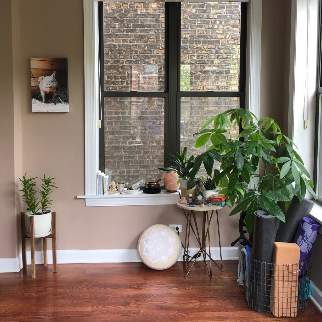 Home Meditation Space