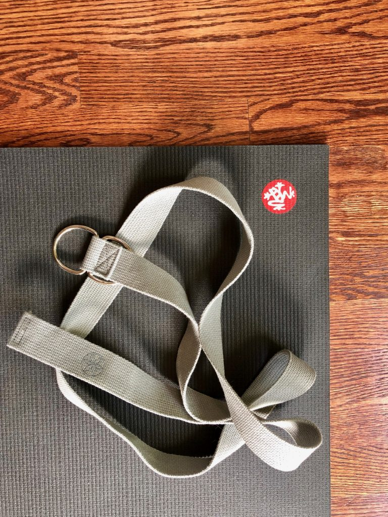 Yoga Mat and Strap