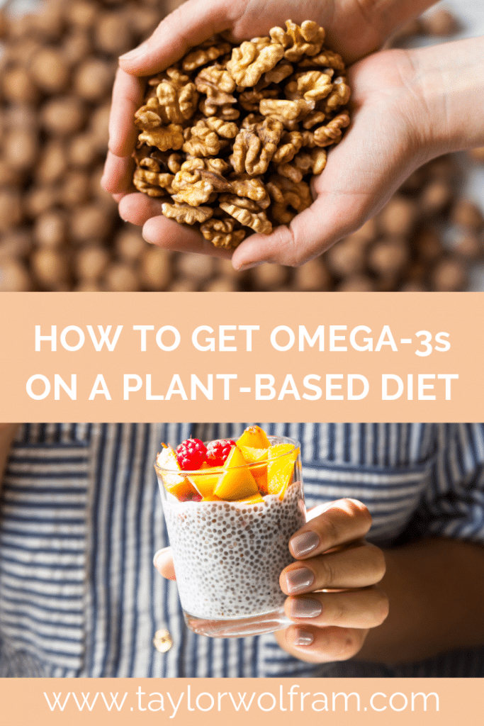 How to Get Omega-3s on a Plant-Based Diet