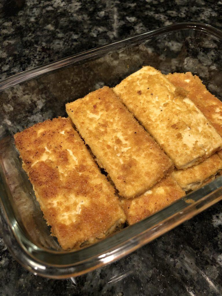 Nooch tofu prepped